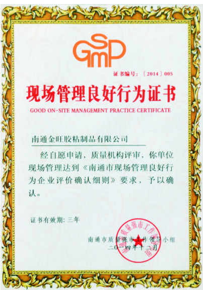 Certificate of Good Conduct